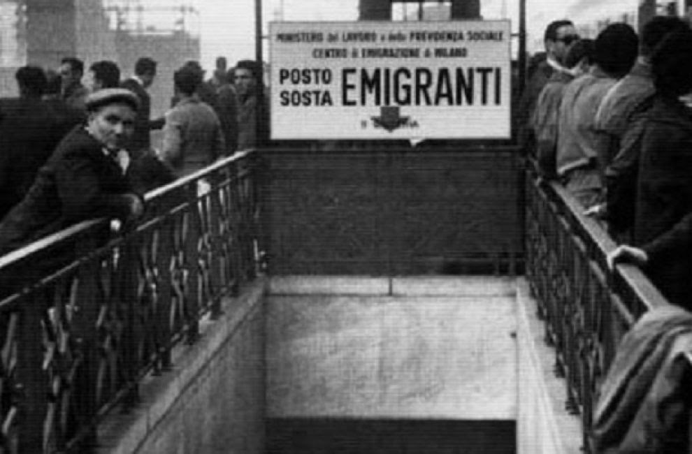 Risultati immagini per emigranti anni 60