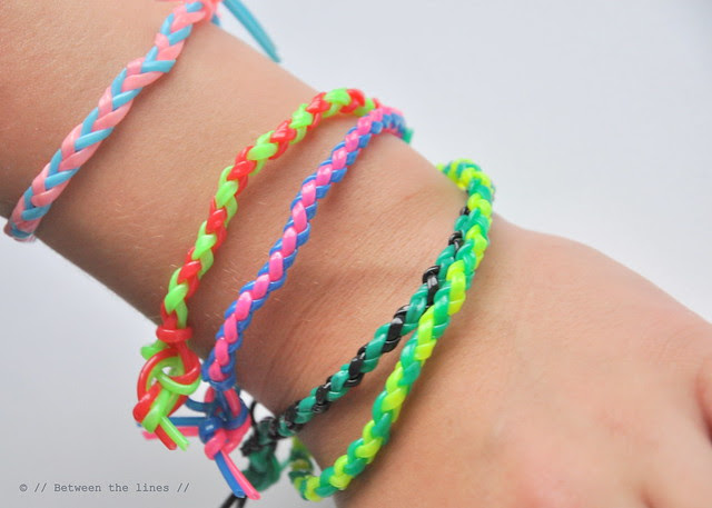 Four strand round braid bracelets