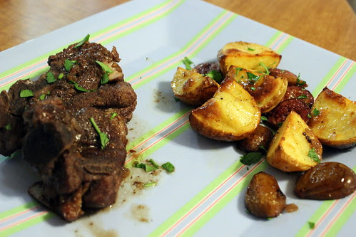 Lamb with Roasted Figs & Potatoes