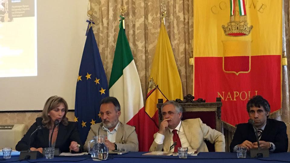 19 MAGGIO 2016 | COMUNE DI nAPOLI, CONFERENZA STAMPA