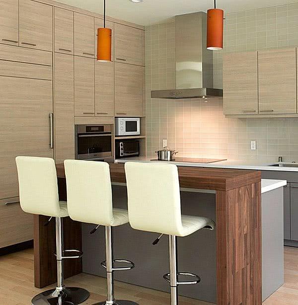 Cocina Americana Pequena Con Barra - Cociana Ikea