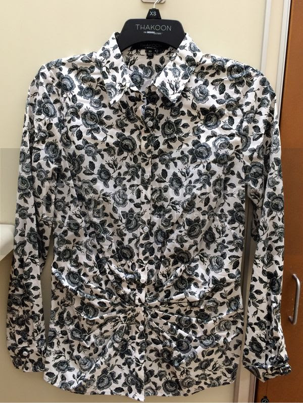 Thakoon for Kohls Pintuck Shirt