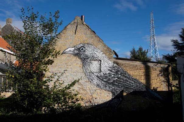 Doel: Το εγκαταλελειμμένο χωριό που παραδόθηκε στην τέχνη του δρόμου (15)