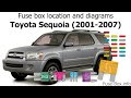 Download 2002 Toyota Tundra Fuse Diagram Pictures