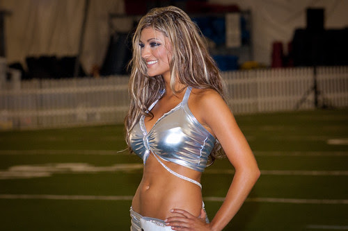 Houston Texans cheerleader tryout 2010