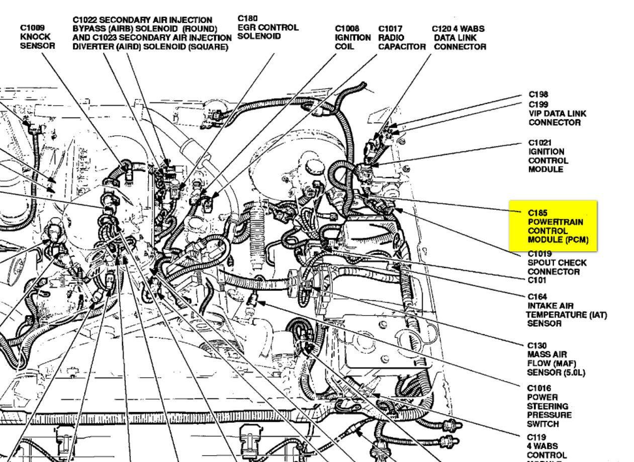 Ford 5 8l Engine Diagram