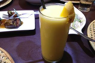 Manila - XO 46 Bistro Filipino Mango shake