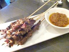 Lamb Belly Satay