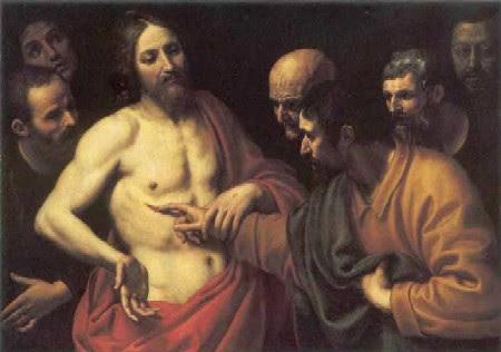 Resultado de imagen para La incredulidad de Santo Tomás-Domenico Cresti, S. XVI