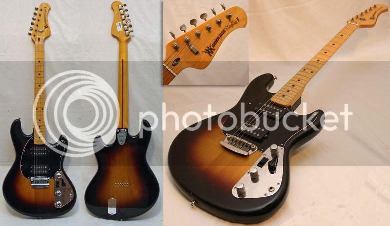 guitar blog music man stingray ii guitar from 1977. Black Bedroom Furniture Sets. Home Design Ideas