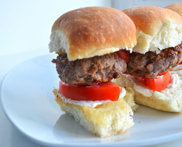 Veal Sliders