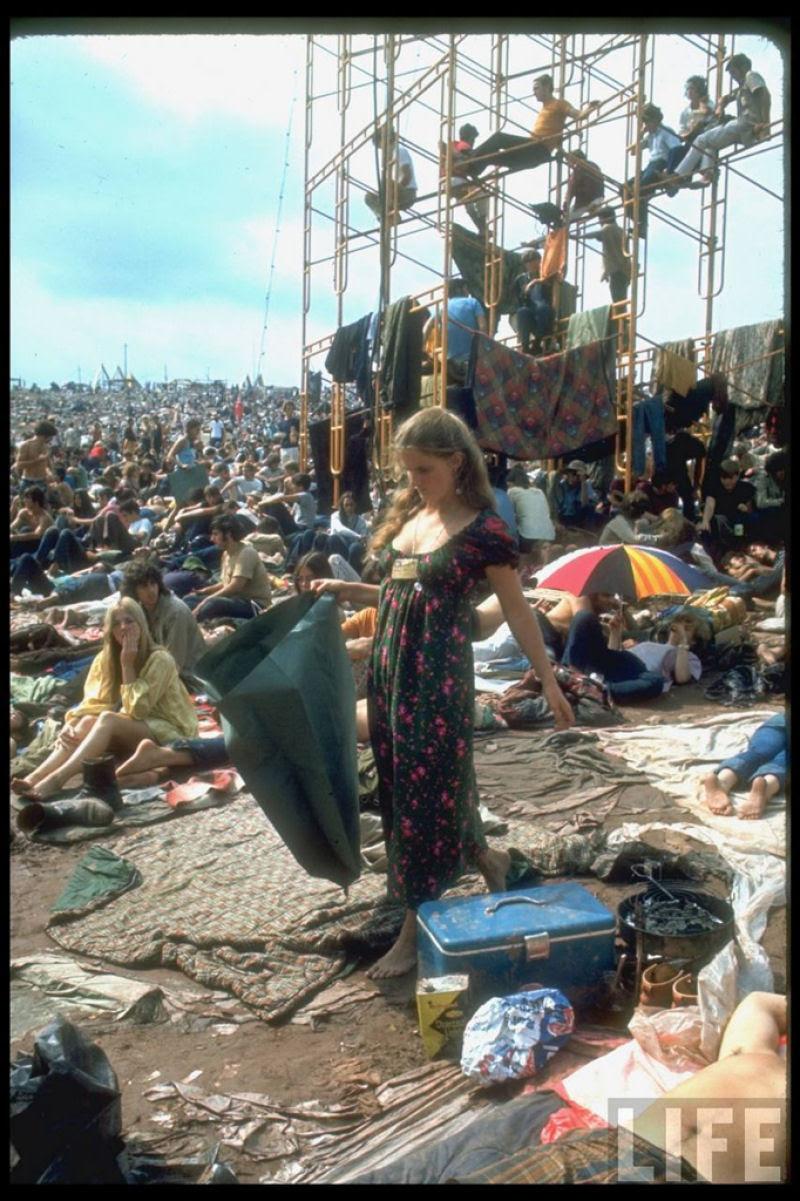 O festival de Woodstock em números e imagens 51