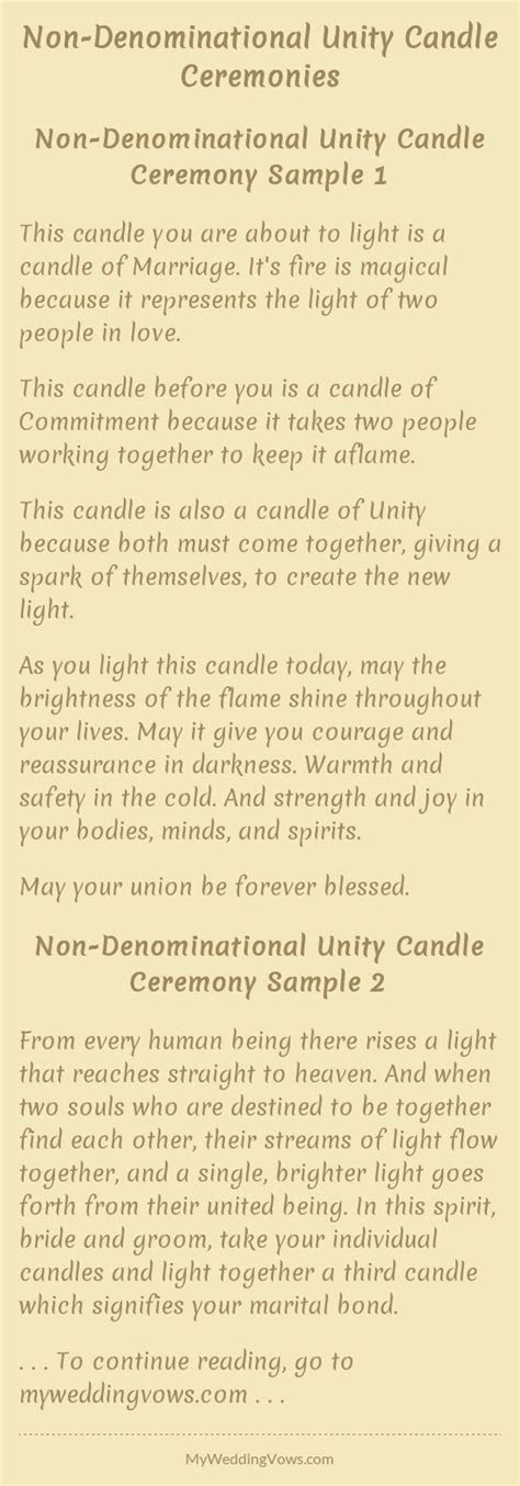 25  best ideas about Unity candle on Pinterest   Wedding