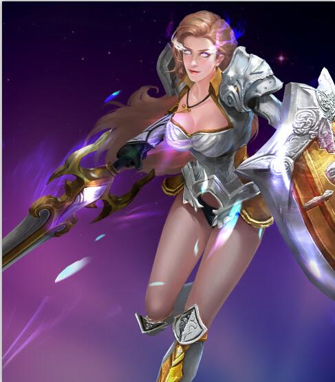 Female Knight Eudeamon Wartune Wallpaper