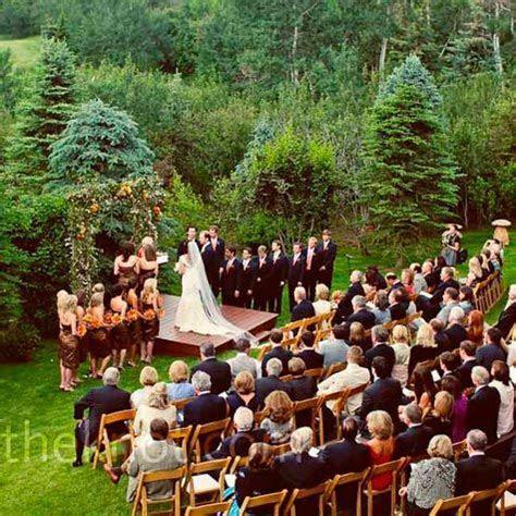 Outdoor Wedding Ceremony (platform?)   Wed   Photos