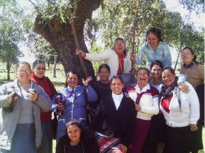 A alegria estampada no rosto de cada irmã demonstra a grande bênção que foi o II Retiro de Mulheres