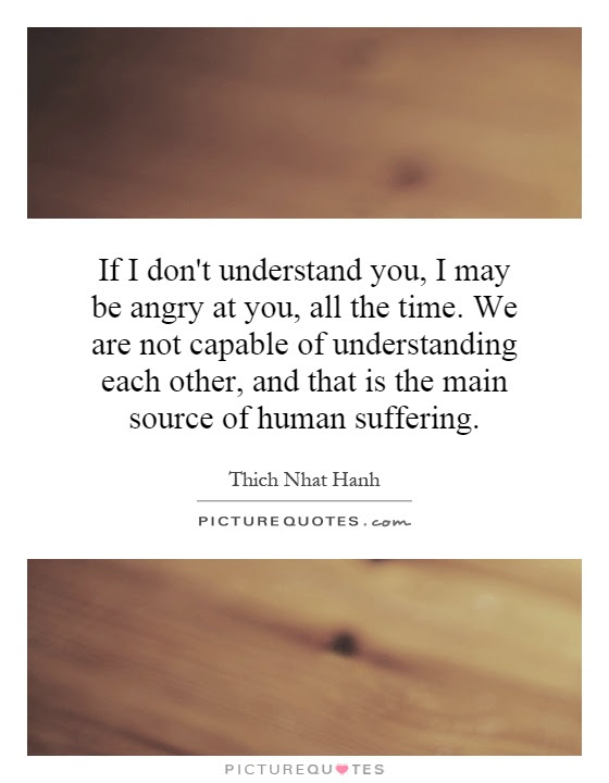 Understanding Each Other Quotes Sayings Understanding Each Other