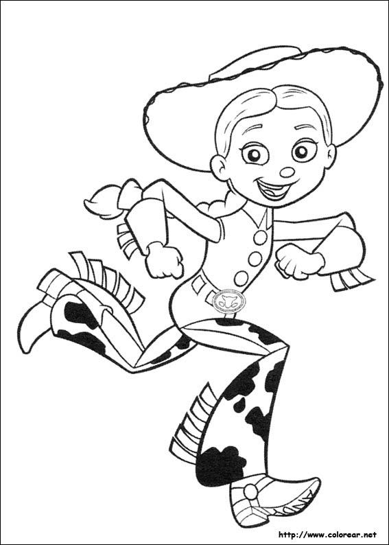 Dibujos Para Colorear De Toy Story 3