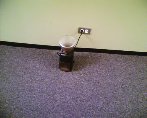 grinder in the hall