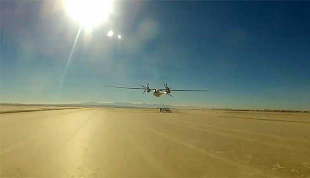 Mengenal Phantom Eye, Drone Mata-mata Amerika Serikat