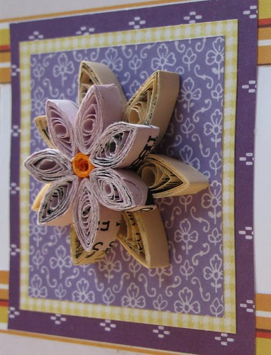 99/365 - Recycled flower card