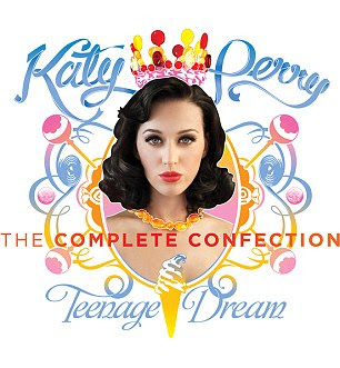 Teenage Dream: Katy capa do álbum novo