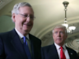 Mitch McConnell just set up a big showdown between GOP lawmakers and Trump over taxes