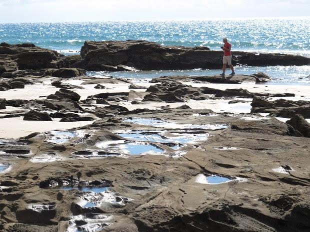 Praia de Lorne, uma das preferidas dos surfistas (Foto: Flávia Mantovani/G1)