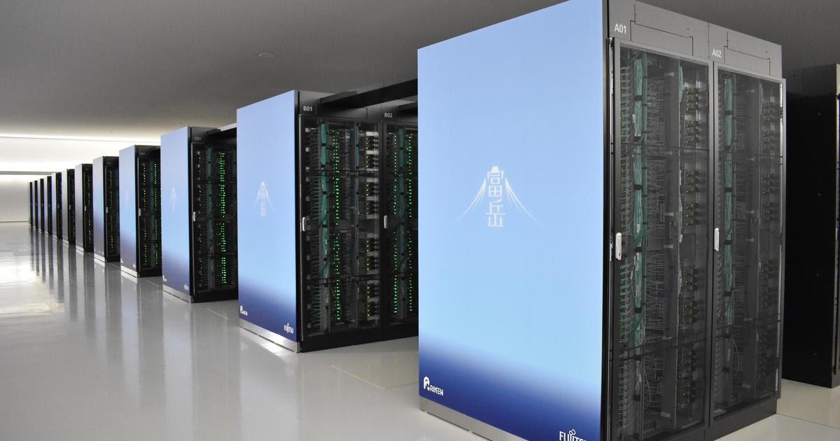"""O supercomputador mais rápido """"Fugaku"""" ocupado na caça ao tratamento com coronavírus e previsão do tempo no Japão 32"""
