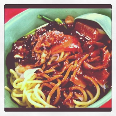 Yong tau foo lunch! #food #sgfood  (Taken with instagram)