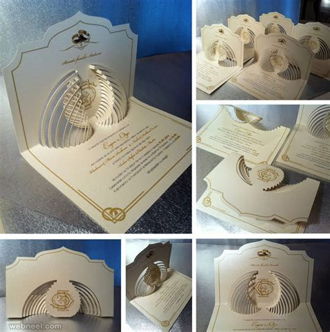 Creative Wedding Invitation Card Designs 18