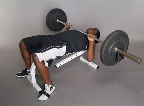 perfect  bench press technique stack