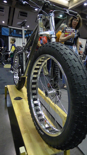 no fork, fat tire