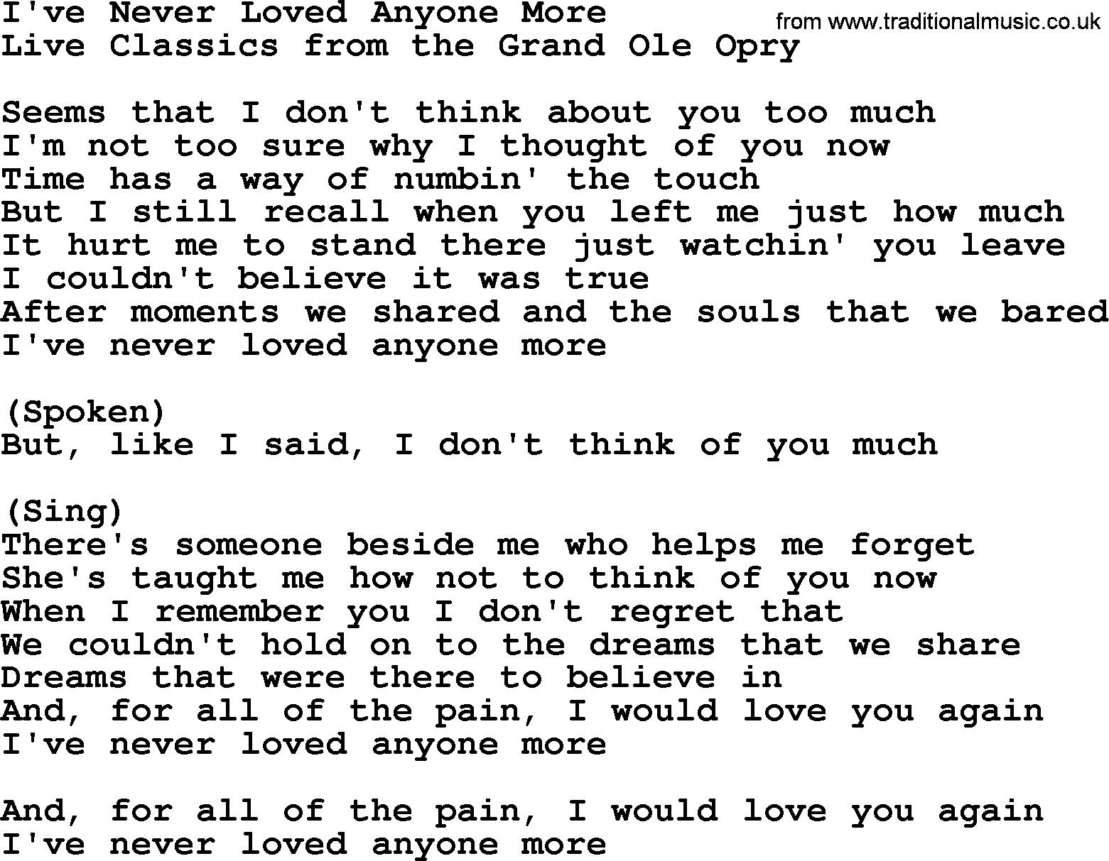 I Have Never Loved Someone Like You Lyrics Archidev