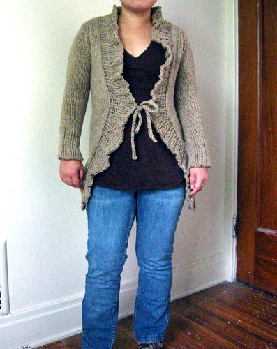 Lion Neck Cardigan