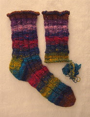 Phoebe's socks