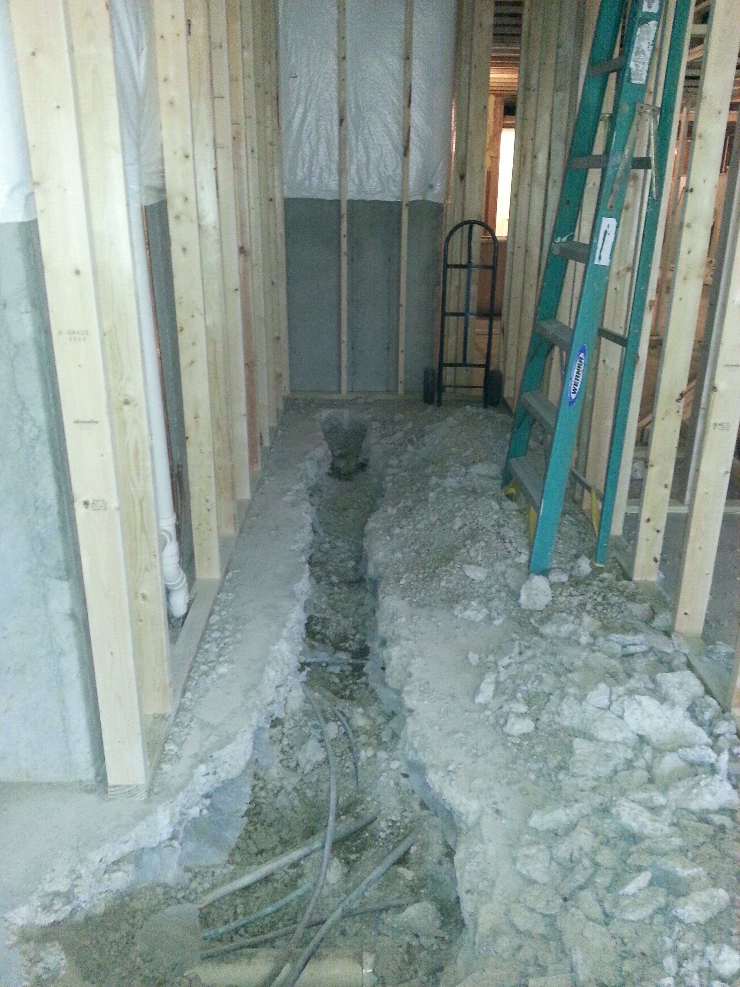 Finishing Basement Bathroom Home And Garden - Cost to build a bathroom in basement