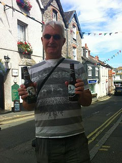 Me with Rick Stein's beers