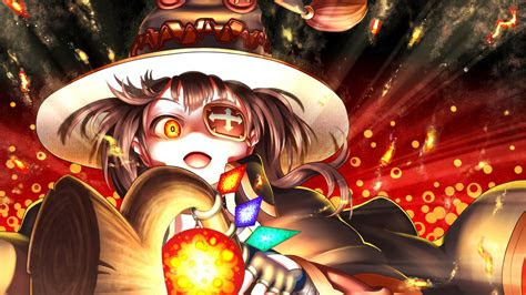 megumin anime  wallpapers hd wallpapers id
