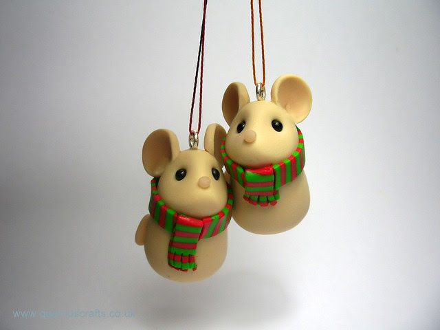 Cozy Christmas Mice decorations  Flickr  Photo Sharing!