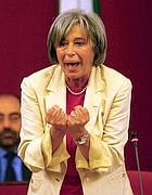 Il sindaco di Genova, Marta Vincenzi