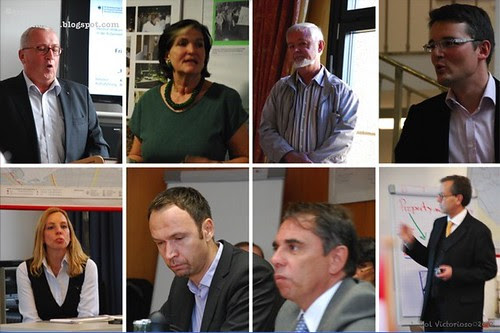 Our speakers during the two-week seminar.