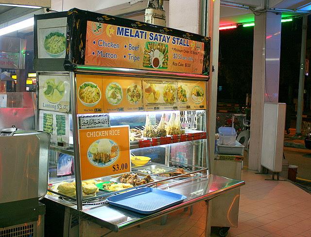 Melati Satay Stall