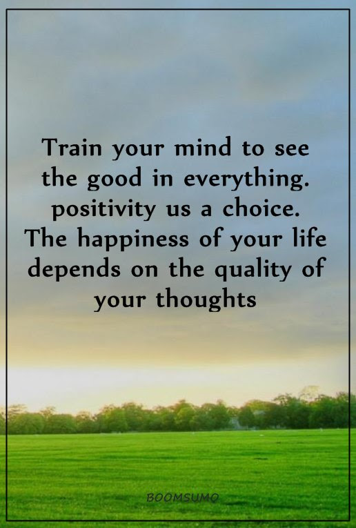 Positive Life Quotes Positive Sayings Train Your Mind To See