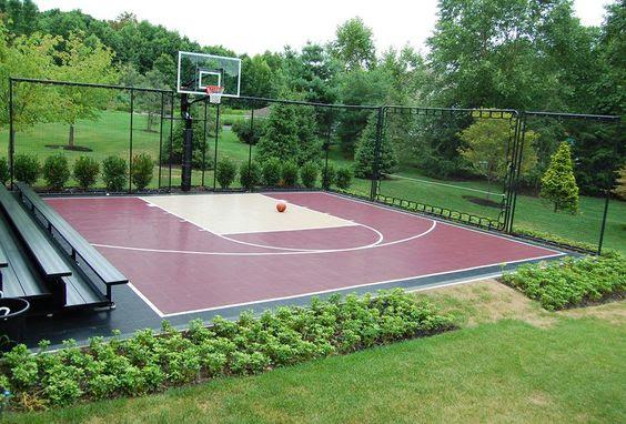 backyard basketball court ideas 5