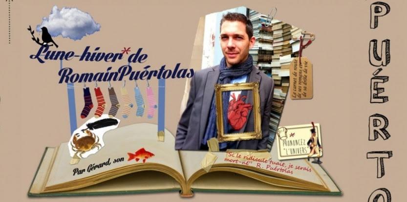 Romain Puértolas, tel qu'il se présente sur son site internet, alors que sort en librairie son premier roman, sobrement intitulé «l'Extraordinaire Voyage du fakir qui était resté coincé dans une armoire Ikea» (Le Dilettante, 19 euros). (©Capture d'écran du site internet de Romain Puértolas)