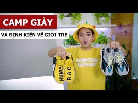 Camp giày và định kiến về giới trẻ (Oops Banana Vlog #31)