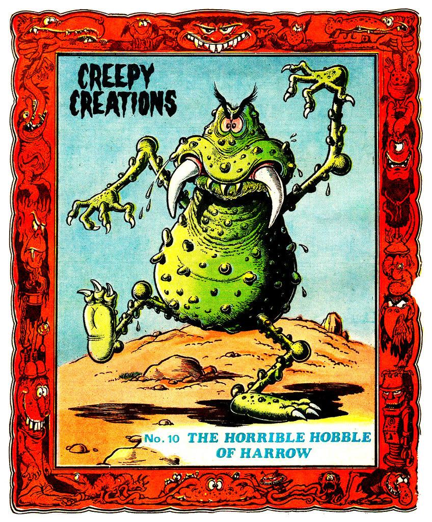 Creepy Creations No.10 - The Horrible Hobble Of Harrow
