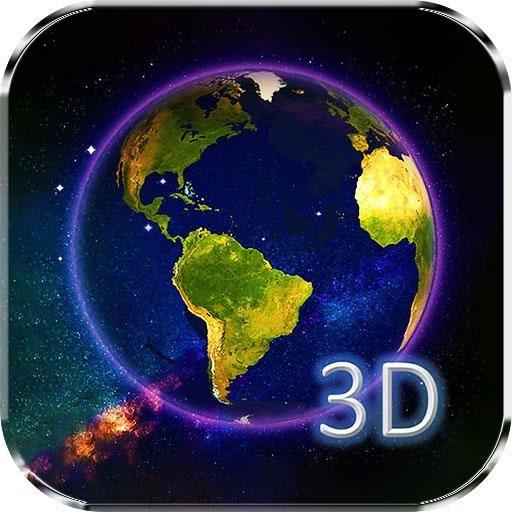Animated Globe Wallpaper