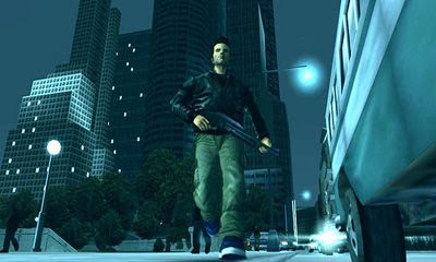 Screenshots of the Grand Theft Auto III for Android tablet, phone.